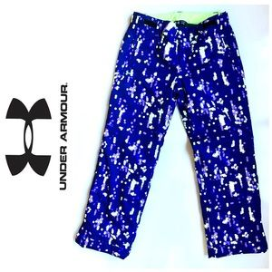 Under Armour Storm2 Snow Pants Youth Purple Lime